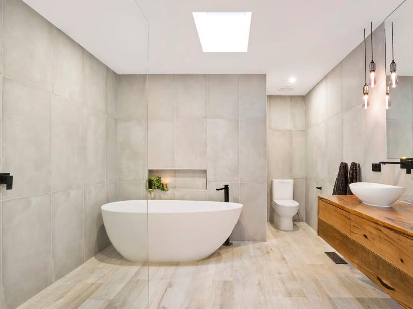 Banheiros legais, modernos e lindos
