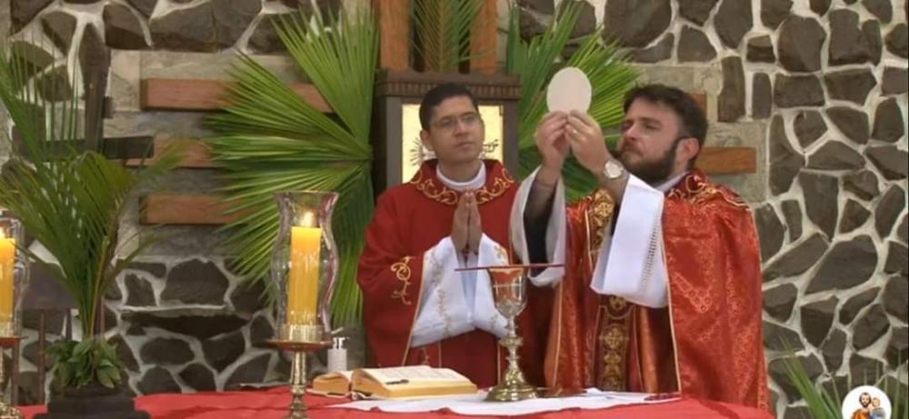 Pe.Murilo e Pe.Mário, Párocos de Alto Piquiri (Foto: Paróquia São José)