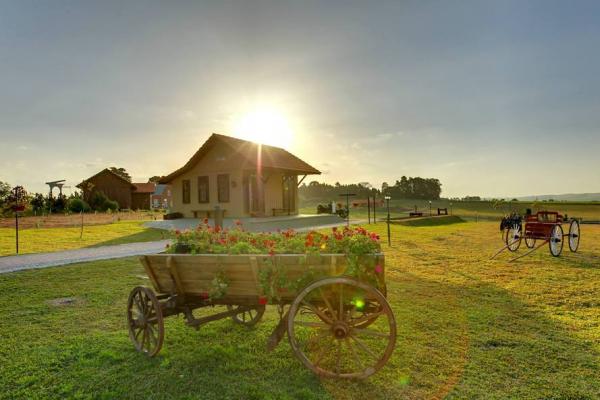 Parque Histórico de Carambeí, na região dos Campos Gerais do Paraná (Foto: AEN)