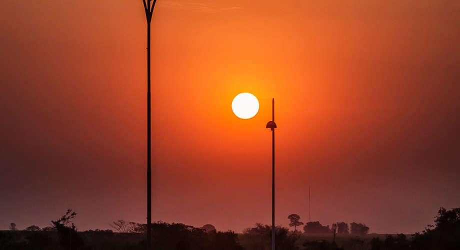 Muito calor em MS - (Foto: Geone Bernardo)