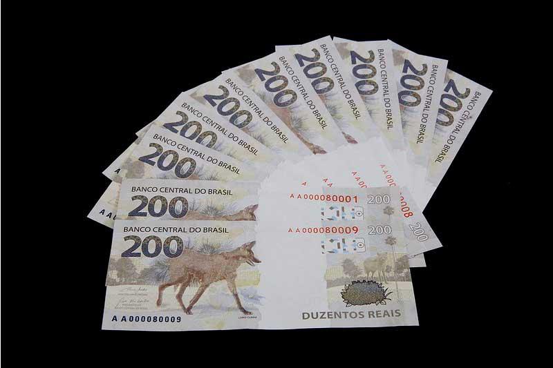 A nova cédula de R$ 200 foi lançada em novembro deste ano/Foto: Raphael Ribeiro/BCB