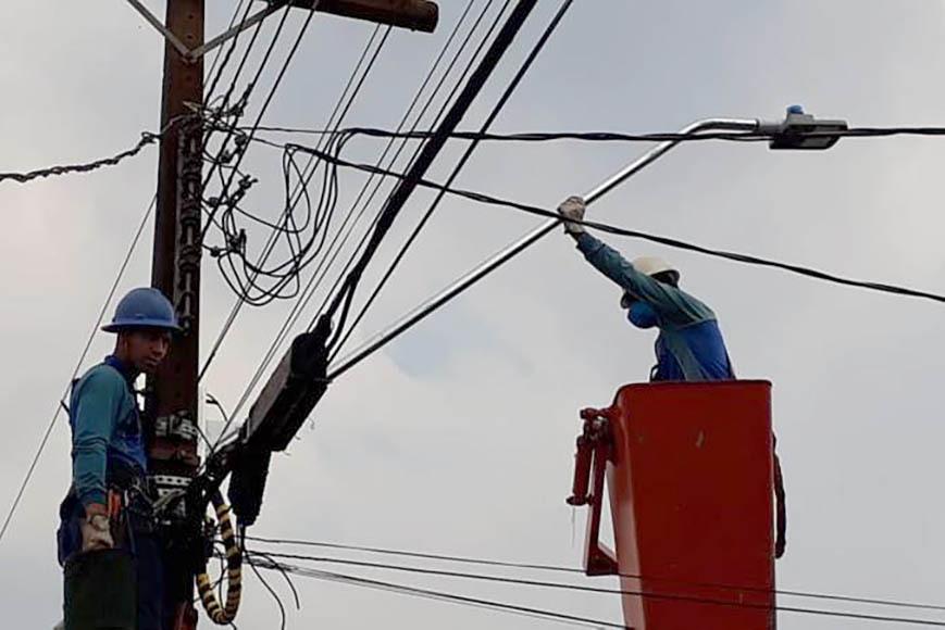 Nova iluminação levará mais segurança para o município de Alto Piquiri. Foto:SEDU