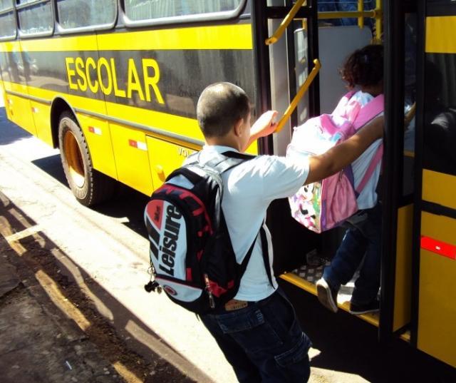 O transporte de estudantes de escolas públicas é uma das obrigações das prefeituras. Foto: Divulgação