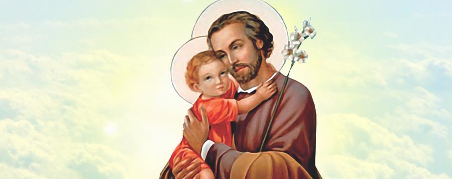 Escolhido por Deus para ser o patrono de toda a Igreja de Cristo, São José é festejado durante o mês de março
